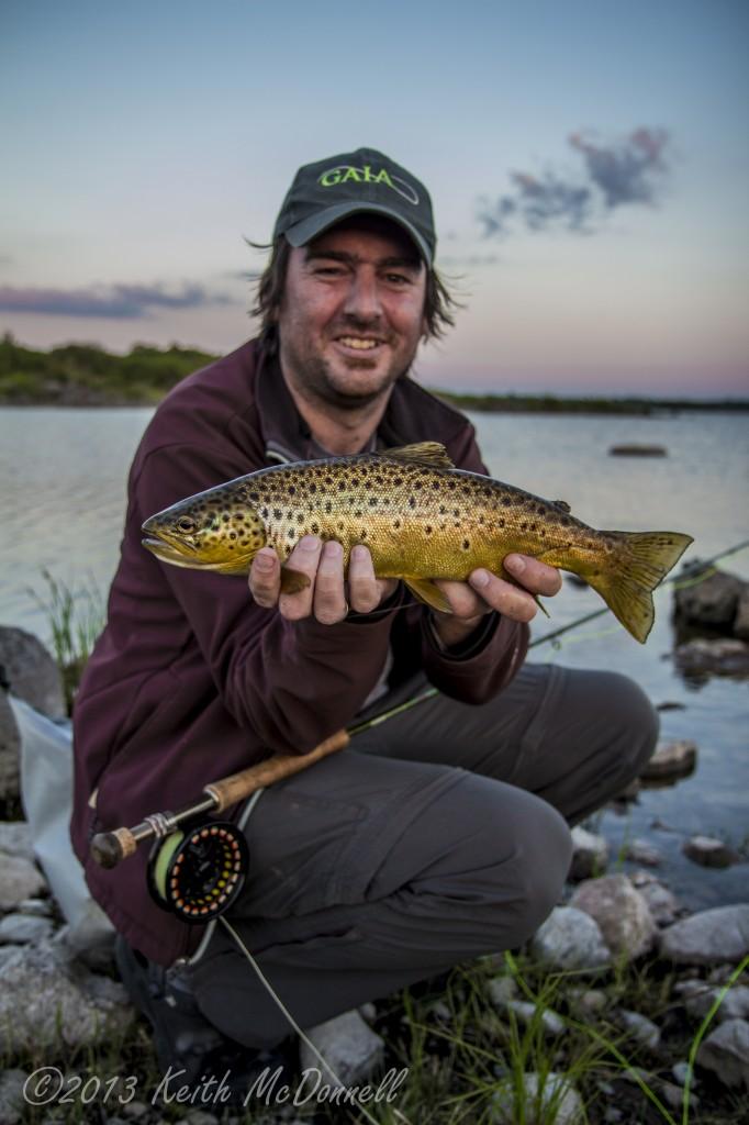 buzzer fishing for irish trout