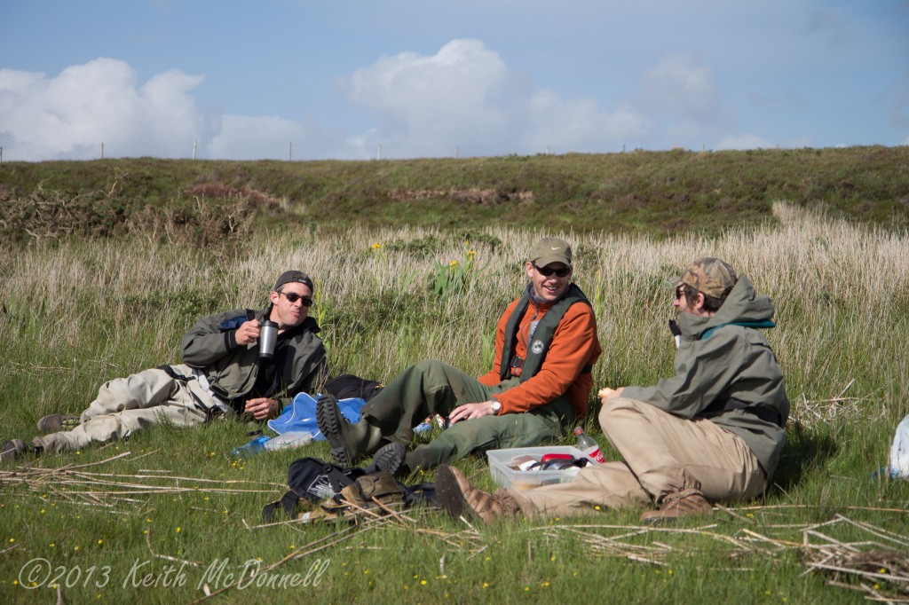 Atlantic Salmon fishing Ireland Carrowmore Lake