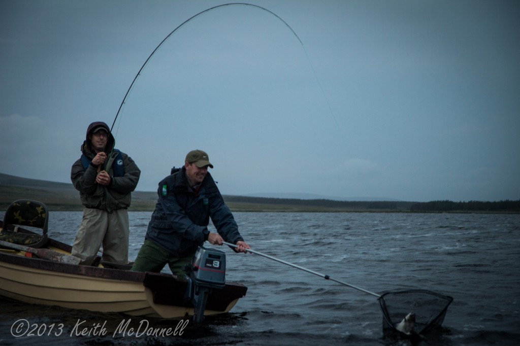 Lake Fishing for Salmon Ireland