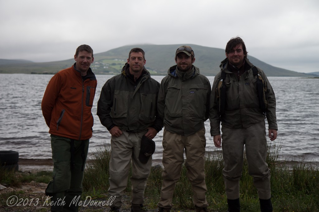 Fly Fishing for Salmon Ireland Carrowmore Lake Mayo